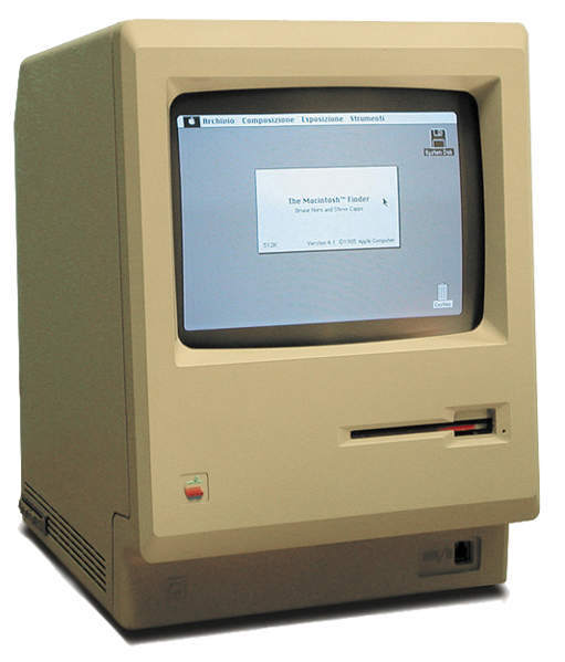 The First Mac Released in 1984